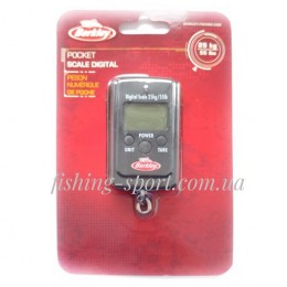 Весы Berkley FISHINGEAR DIGITAL POCKET SCALE 25кг (1402808)