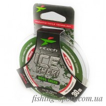Леска Intech Ice Khaki Moss Green  (324144)
