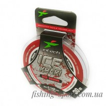 Леска Intech Ice Khaki Red Brown  (324145)