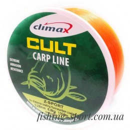 Леска Climax CULT Carp Line Z-sport Orange (25151-00)