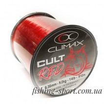 Леска CLIMAX CULT Carpline red красная 1/4 lbs (324154)