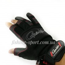 Перчатки Gamakatsu ARMOR GLOVES 3 FINGERS CUT (7188)