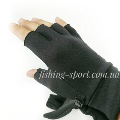 Перчатки Gamakatsu G-GLOVES FINGERLESS  (7239)