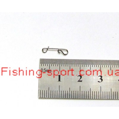 Безузловая застёжка Fishing ROI Wrapping snap   S 12кг. 10шт. (322550)