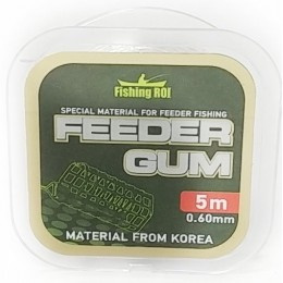 Амортизатор Fishing Roi Feeder Gum 0.6 мм 5 м прозрачная (323892)