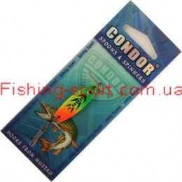 Блесна Condor Secret Fluo Tiger 5гр 5039-050 98col(322195)