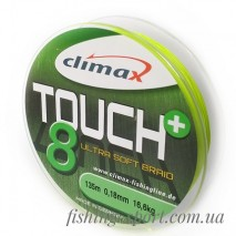 Шнур CLIMAX TOUCH 8 BRAID 135м салатовый (324149)