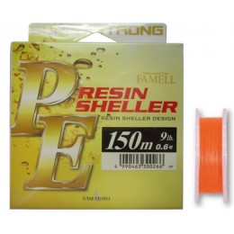 Шнур Yamatoyo PE Resin Sheller Orange 150м. (1110070-0)